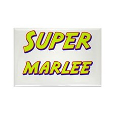 Super marlee Rectangle Magnet