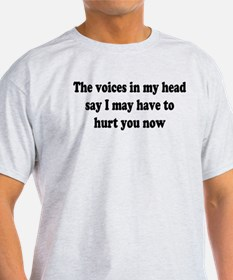 I may have to hurt you now T-Shirt