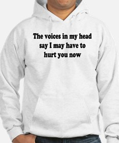 I may have to hurt you now Hoodie