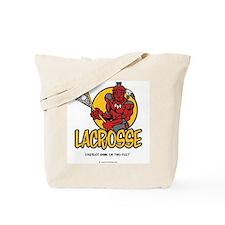 Lacrosse-Fastest Game Tote Bag