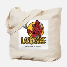 Lacrosse-Fastest Game Tote Bag