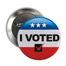 "I Voted Button 2.25"" Button (10 pack)"
