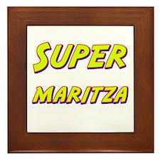 Super maritza Framed Tile