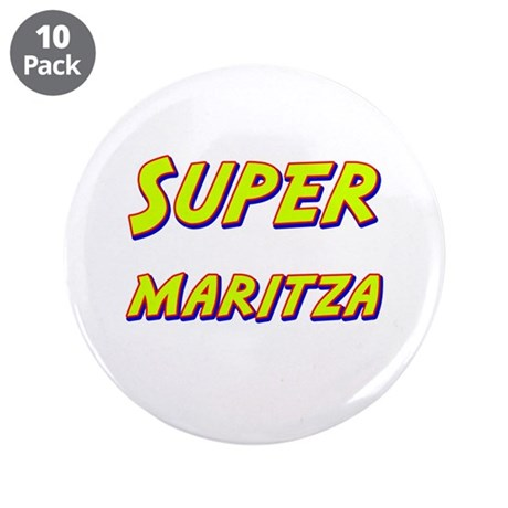 "Super maritza 3.5"" Button (10 pack)"