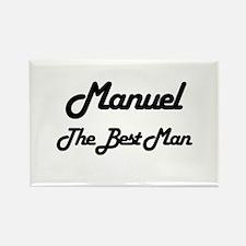 Manuel - The Best Man Rectangle Magnet
