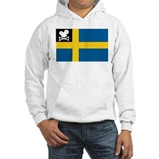 Movie Pirate Swedish Flag Hoodie