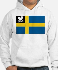 Movie Pirate Swedish Flag Hoodie