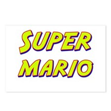Super mario Postcards (Package of 8)