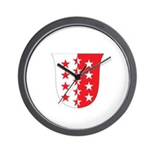valais Wall Clock