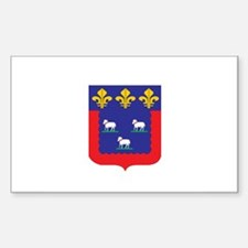 bourges Rectangle Decal