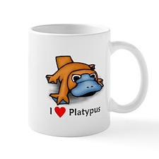 I Love Platypus Mug