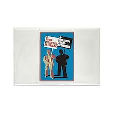 antiwar7 Rectangle Magnet (100 pack)