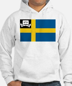 Music Pirate Swedish Flag Hoodie