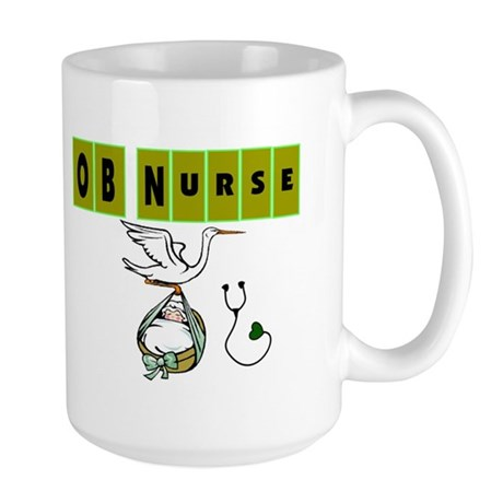 Labor & Delivery Nurse Large Mug