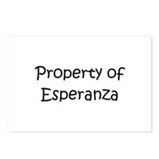 Unique Esperanza Postcards (Package of 8)