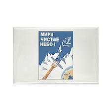 antiwar4 Rectangle Magnet (100 pack)