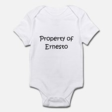 Unique Ernesto name Infant Bodysuit