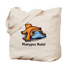 Platypus Rule! Tote Bag