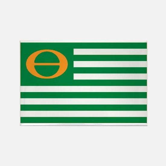 ECO FLAG... Rectangle Magnet