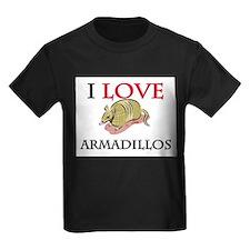 I Love Armadillos T