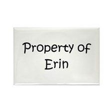 Unique Erin name Rectangle Magnet