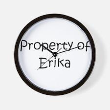 Funny Erika Wall Clock