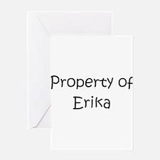 Cute Erika Greeting Card