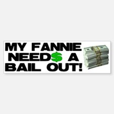 My Fannie Bumper Bumper Bumper Sticker