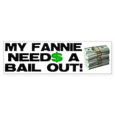 My Fannie Bumper Bumper Sticker