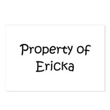 Unique Ericka Postcards (Package of 8)