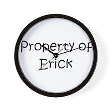 Funny Erick Wall Clock