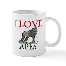 I Love Apes Mug