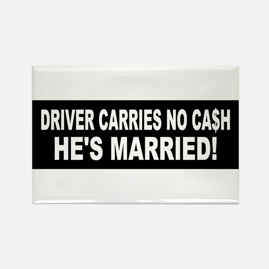 Driver Carries No Cash - He's Married! Rectangle M