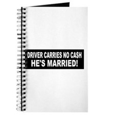 Driver Carries No Cash - He's Married! Journal