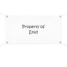 Unique Enid Banner