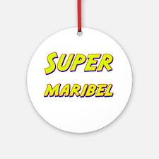 Super maribel Ornament (Round)
