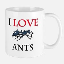 I Love Ants Mug