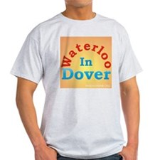 Waterloo In Dover Ash Grey T-Shirt