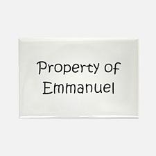Cute Emmanuel Rectangle Magnet