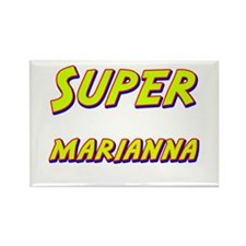 Super marianna Rectangle Magnet