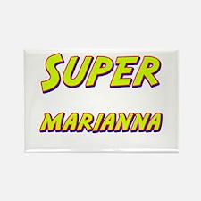 Super marianna Rectangle Magnet
