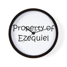 Funny Ezequiel Wall Clock