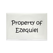 Funny Ezequiel Rectangle Magnet