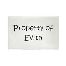Unique Evita Rectangle Magnet