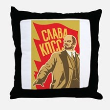 lenin Throw Pillow