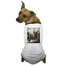 Old Munich Cityscape Dog T-Shirt