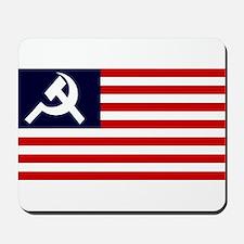 Soviet America Flag Mousepad