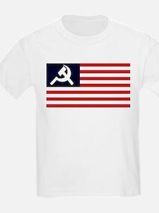 Soviet America Flag T-Shirt