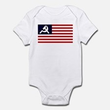 Soviet America Flag Infant Bodysuit