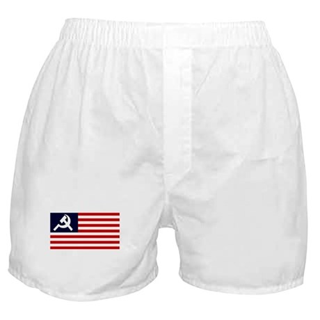 Soviet America Flag Boxer Shorts